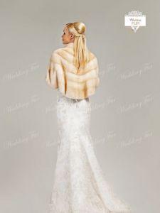 Шубка для невесты айвори
