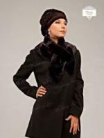 Женский меховой шарф воротник купить фото
