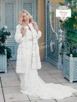 Свадебная шуба из меха купить