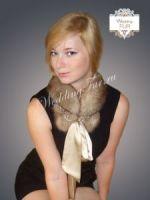 Соболиный дизайнерский воротник из соболя Wedding fur фото купить Москва