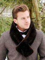 Мужской меховой шарф из норки купить в Москве